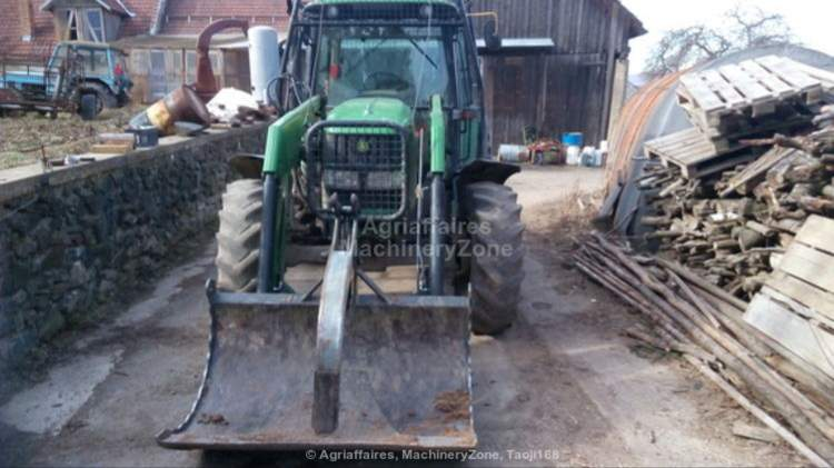 JOHN DEERE - 6230SE with front loader Q50